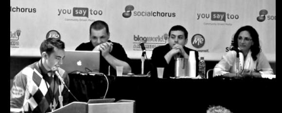 Blog World Expo Pat Flynn Panel