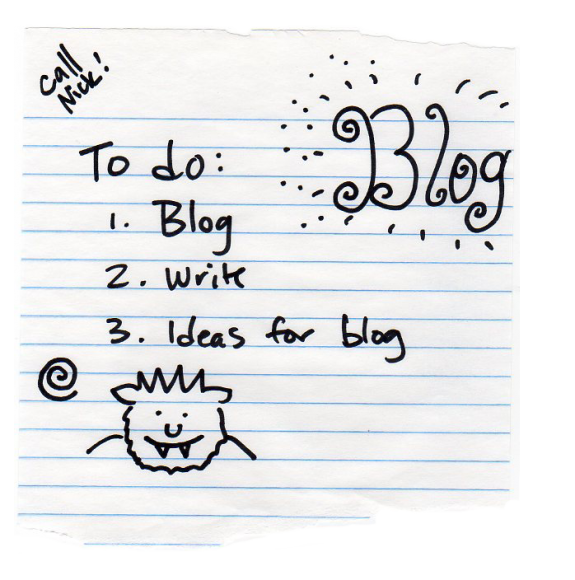 Day 14: Blogging