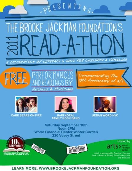 Brooke Jackman Readathon!