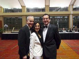 Jerry, me, & Gov. Malloy