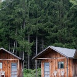 Cozy cabins at Highlights Foundation