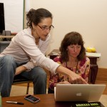 Katie Davis teaching Robin Heald