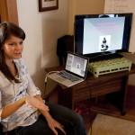 Lindsey Leavitt teaching