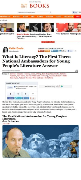 Brain Burps About Books on Huffington Post!