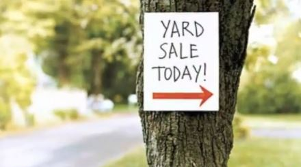 Flashback Friday: Famous Authors at Yard Sales