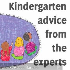 Flashback Friday: Kindergarten Advice for Kids in Preschool