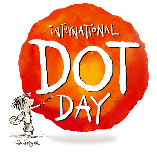 International Dot Day with My Twitter Friend Terry Shay