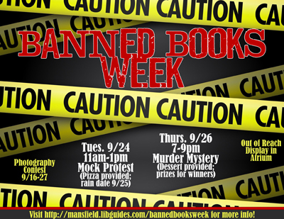 Banned Books Week | A Book Banning Librarian
