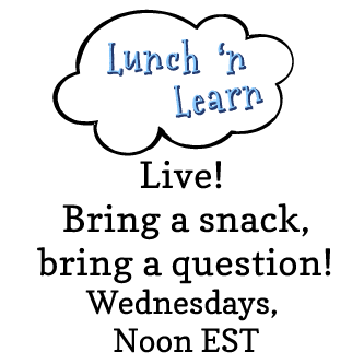 Brain Burps About Books Lunch 'n Learn with Author Katie Davis Session 17