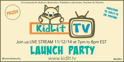 KidLit TV Launch Party