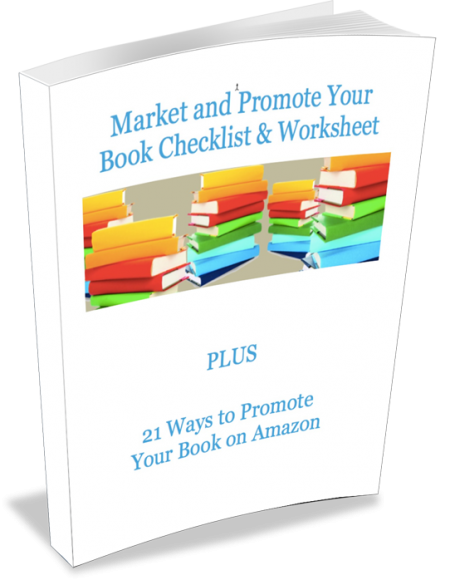 How to Promote Your Book Checklist & Worksheet – FREE