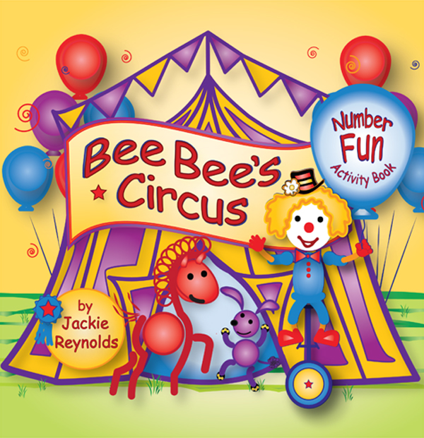 Bee Bee the Clown Number Fun by Jackie Reynolds