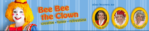 Bee Bee the Clown and Jackie Reynolds