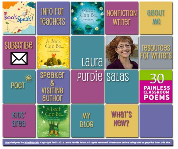 Laura Purdie Salas Website