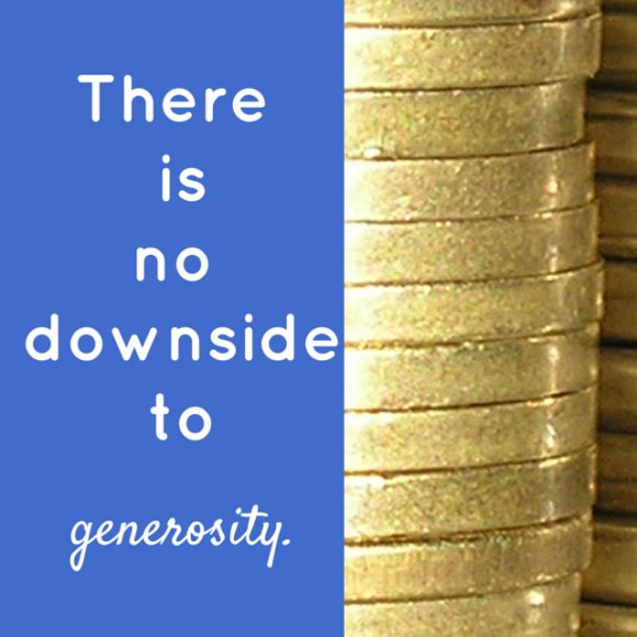 Be generous when it comes to building your author platform.